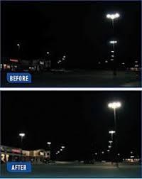 led parking lot lights vs metal halide led retrofit saves mall on outdoor lighting usilluminations
