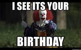 Clown Meme - evil clown meme generator mne vse pohuj