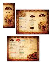 takeout menu template mexican restaurant take out menu template