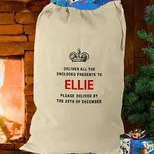 deliver presents deliver presents to cotton santa sack by and willow