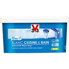 peinture cuisine et bain peinture intérieure monocouche blanc cuisine bain satin