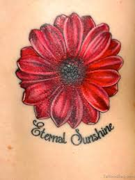 70 lovely flowers tattoos on back