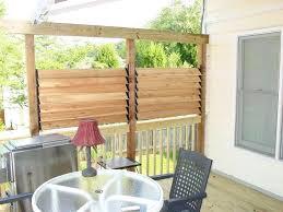 patio ideas wicker outdoor patio privacy screen retractable