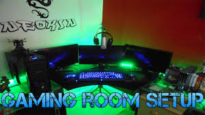 awesome gaming room setup 2013 youtube