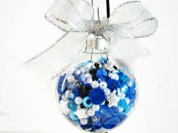 75 ways to fill clear glass ornaments