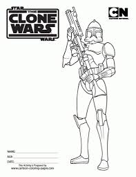boba fett coloring pages getcoloringpages with clone trooper