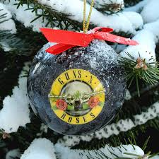 Special Christmas Ornaments Guns N Roses Christmas Ornament Christmas Ornament Rockabilia