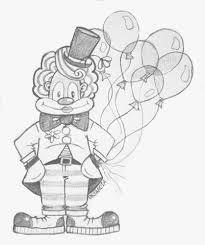 clown with balloons sketch pencil sketch i made for my v u2026 flickr