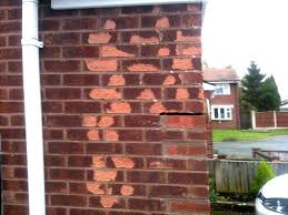 how to replace frost damaged bricks youtube