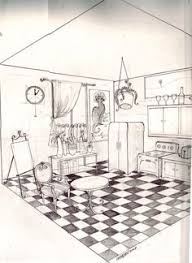 how to draw a room in perspective interior home designs