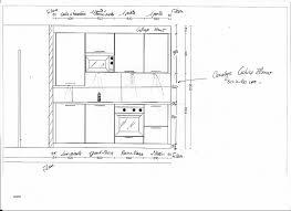 taille plan de travail cuisine hauteur d un bar de cuisine fresh hauteur plan travail cuisine lzzy