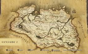 Dragon Age World Map by Paper World Map For Sse At Skyrim Special Edition Nexus Mods And