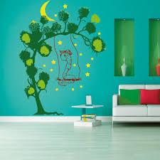 Kinderzimmer Schaukel Wandtattoo Baum Wurm Auf Schaukel Sunnywall Online Shop