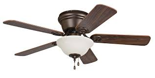 hunter oil rubbed bronze ceiling fan wyman with bowl light kit 42 ceiling fan with blades and light in