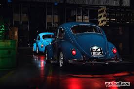 volkswagen beetle blue lights out vw beetle photoshoot vw heritage blog