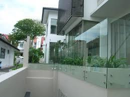 glas f r balkon index of images glass glass railing