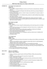 salesman resume exles counter sales resume sles velvet