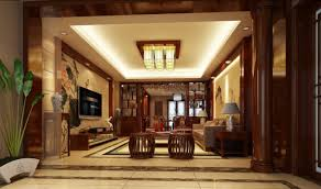 Kerala Home Pillar Design Living Room Villa Living Room Design With Pillars And Stairs