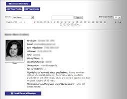 class reunions website class reunion websites create a website for your high school