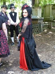 Goth Look For Halloween by Gothic Fashion Wikipedia