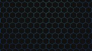 blue hexagon wallpaper wallpapersafari