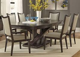 7 piece southpark pedestal dining room room set by liberty home