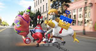the spongebob movie sponge out of water