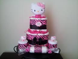 hello kitty diaper cake diaper cake hello kitty baby shower