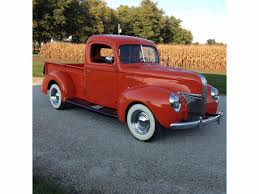 ford truck red 1941 to 1943 ford pickup for sale on classiccars com