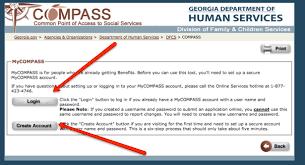 www compass ga gov food stamps application food recipe
