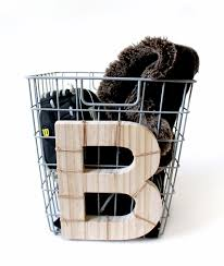 monogrammed baskets get organized diy monogrammed baskets kraft mint