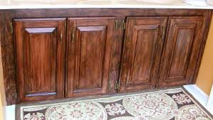 staining kitchen cabinets before and after round black wood table