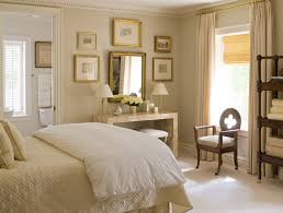 traditional bedroom with soft gray walls paint color gold leaf