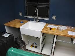 ikea farmhouse sink single bowl domsjo single bowl sink installation sink ideas