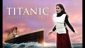 diy titanic passenger halloween costume lucykiins youtube