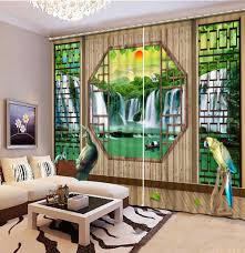 waterfall in living room design