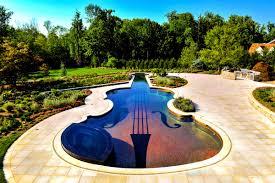 patio personable custom swimming pool cipriano landscape design