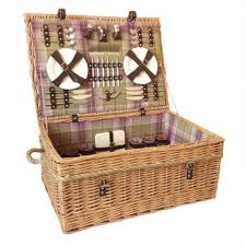 picnic basket set for 2 inside the uk s poshest picnic hers which are selling for up