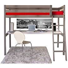 lits mezzanine avec bureau amazon fr lit mezzanine