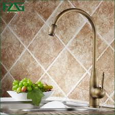 online get cheap kitchen faucets antique brass aliexpress com
