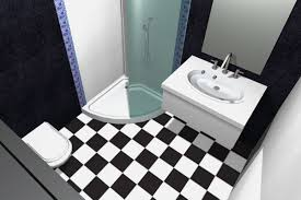 Black And White Checkered Tile Bathroom Would Purple Glass Mosaic Tiles Go With Black And White Tiles In