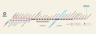 stl metro map local transportation