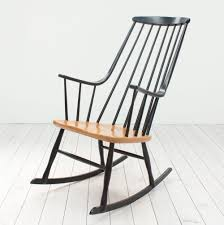 Rocking Chair Bohem 2402 Rocking Chair By Lena Larsson For Nesto 1950s 60003