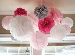 pink and gray baby shower shades of pink gray baby shower party ideas photo 1 of 64