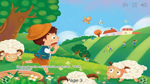 village town references the boy who cried wolf the boy who cried wolf interactive book ibigtoy apps 148apps