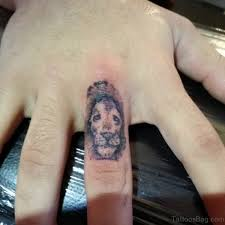 lion tattoo on finger 1000 geometric tattoos ideas