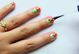 nail design tips home 3 ways to make a nail art flower wikihow