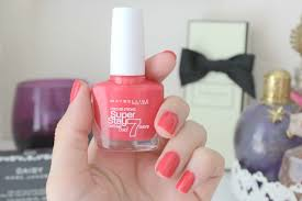 maybelline superstay 7 day gel nail colour salsa beauty
