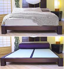 Japanese Zen Bedroom Platform Beds Low Platform Beds Japanese Solid Wood Bed Frame