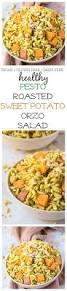 pesto orzo salad